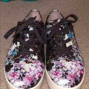 Calvin Klein Cherry Blossom Sneakers- Worn Twice